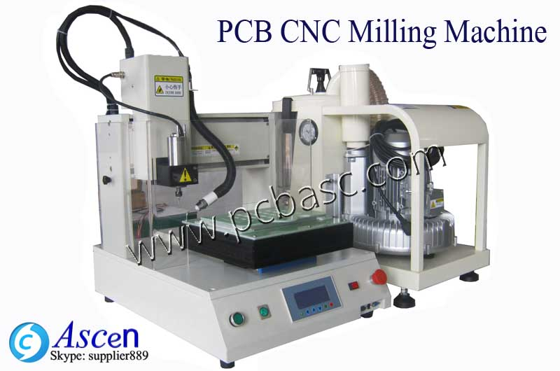High speed Small PCB CNC Millin
